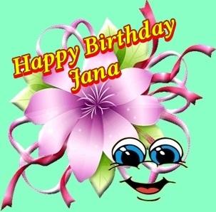 Happy Birtday Janchen Jana10
