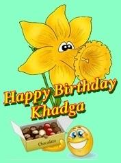 Happy birthday liebe Khadga Khadga10