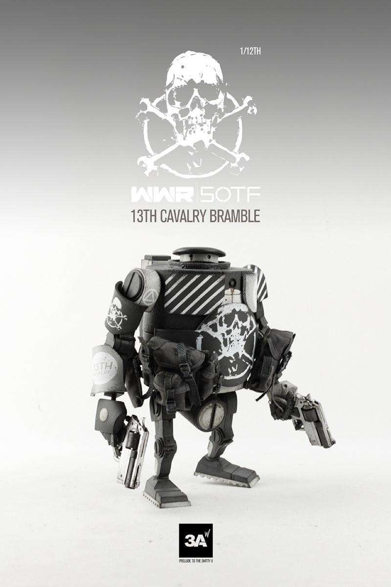 "ThreeA - WWR - Heavy Bramble 7"" Zdato10"