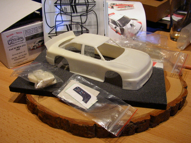 Slotracing im Maßstab 1:24  --> Karosseriebau Audi10