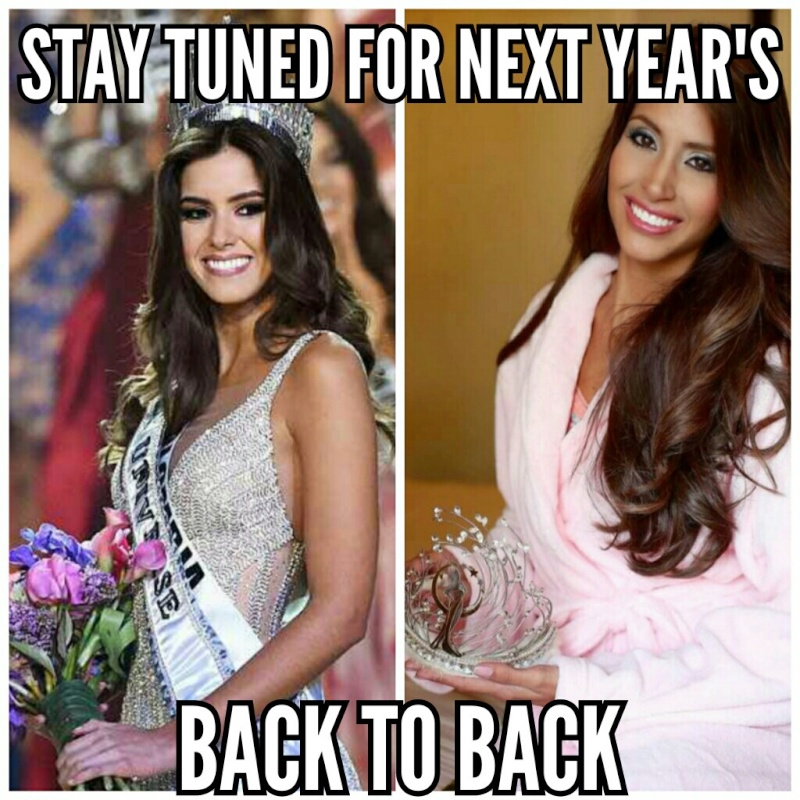 ♔ MISS UNIVERSE® 2014 - Official Thread- Paulina Vega - Colombia ♔ - Page 2 8g9edh10