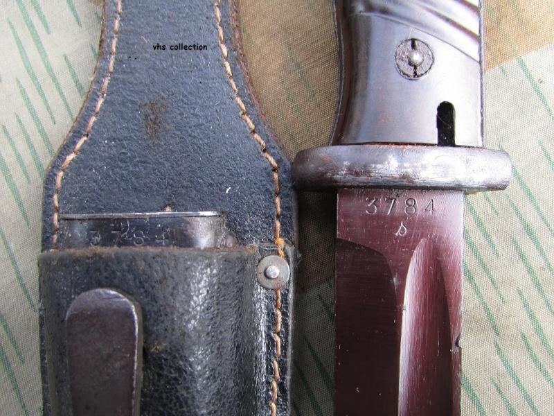 Une baïonnette de K98 à lame rouge  Img_4522