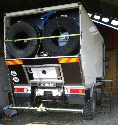 camping car à partir d'un Renault 110-170 4x4 : Gt511