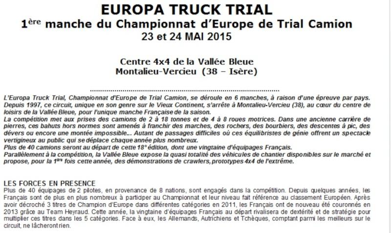 EUROPA TRUCK TRIAL à Montalieu-Vercieu (38) les 23 & 24 mai 2015 Montal10