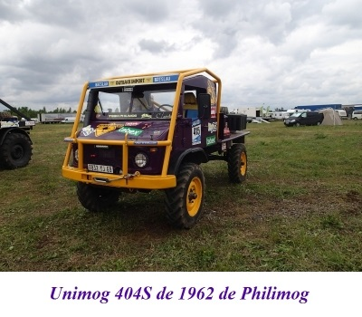 LES RESTAURATIONS ET LES PHOTOS D'UNIMOG Nb4810