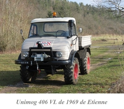 LES RESTAURATIONS ET LES PHOTOS D'UNIMOG Nb5110