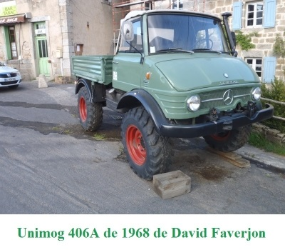 LES RESTAURATIONS ET LES PHOTOS D'UNIMOG Nb5210