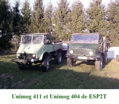 LES RESTAURATIONS ET LES PHOTOS D'UNIMOG Nb5310