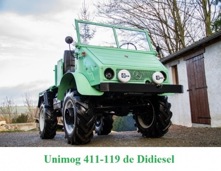 LES RESTAURATIONS ET LES PHOTOS D'UNIMOG Nb5410