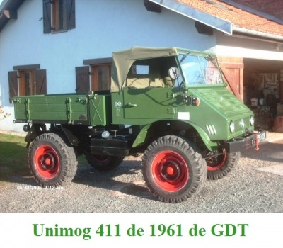 LES RESTAURATIONS ET LES PHOTOS D'UNIMOG Nb5810
