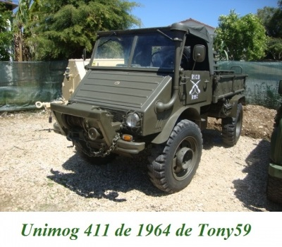 LES RESTAURATIONS ET LES PHOTOS D'UNIMOG Nb6010