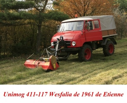 LES RESTAURATIONS ET LES PHOTOS D'UNIMOG Nb6110