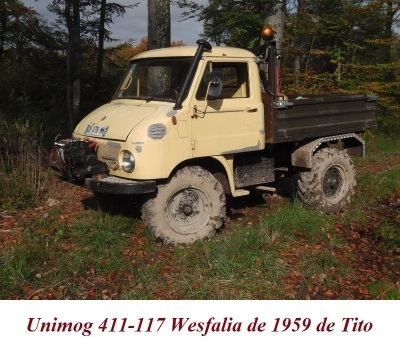 LES RESTAURATIONS ET LES PHOTOS D'UNIMOG Nb6210