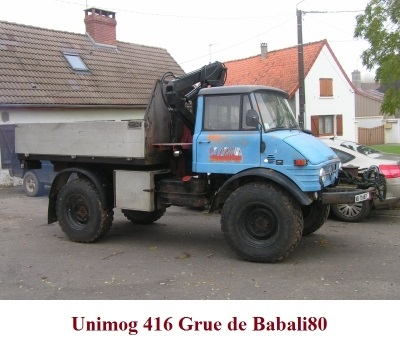 LES RESTAURATIONS ET LES PHOTOS D'UNIMOG Nb6310