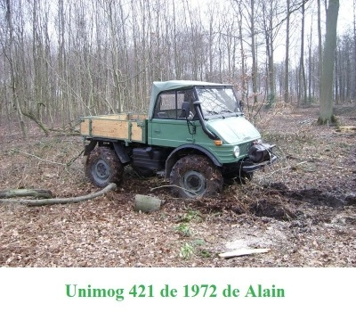 LES RESTAURATIONS ET LES PHOTOS D'UNIMOG Nb6610