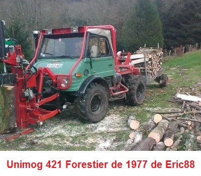 LES RESTAURATIONS ET LES PHOTOS D'UNIMOG Nb6711