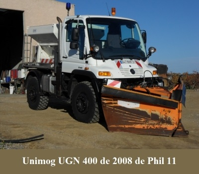 LES RESTAURATIONS ET LES PHOTOS D'UNIMOG Nb7310