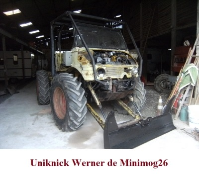 LES RESTAURATIONS ET LES PHOTOS D'UNIMOG Nb7410