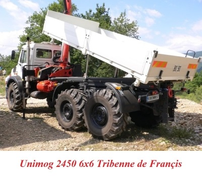 LES RESTAURATIONS ET LES PHOTOS D'UNIMOG Nb7810
