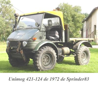 LES RESTAURATIONS ET LES PHOTOS D'UNIMOG Nb80a113
