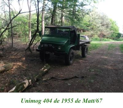 LES RESTAURATIONS ET LES PHOTOS D'UNIMOG Nb80a310