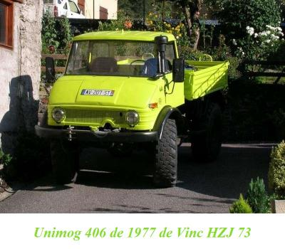 LES RESTAURATIONS ET LES PHOTOS D'UNIMOG Nb80a710