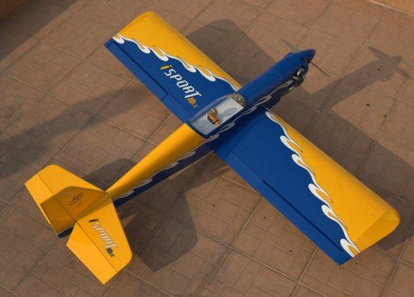 Seagull Models Isport 10cc RTF less rx 14030810