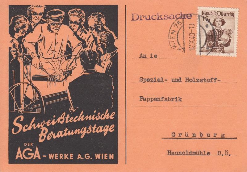 Werbeumschläge und -karten aus Österreich Img10