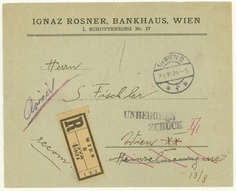 Briefe / Poststücke österreichischer Banken - Seite 3 At_ban10