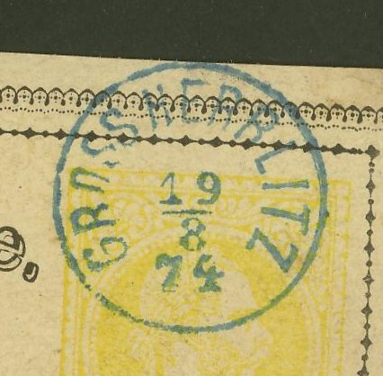 Fingerhutstempel auf Freimarkenausgabe 1867 Gross_10