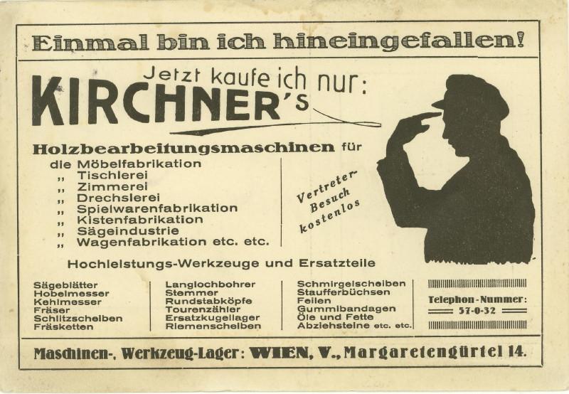 Werbeumschläge und -karten aus Österreich - Seite 2 Holzbe11