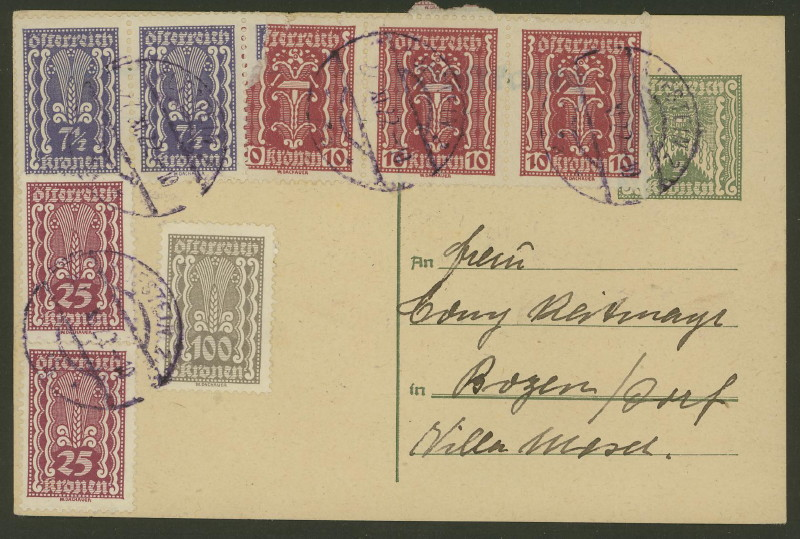 Inflation in Österreich - Belege - 1918 bis 1925 - Seite 3 P_249_10