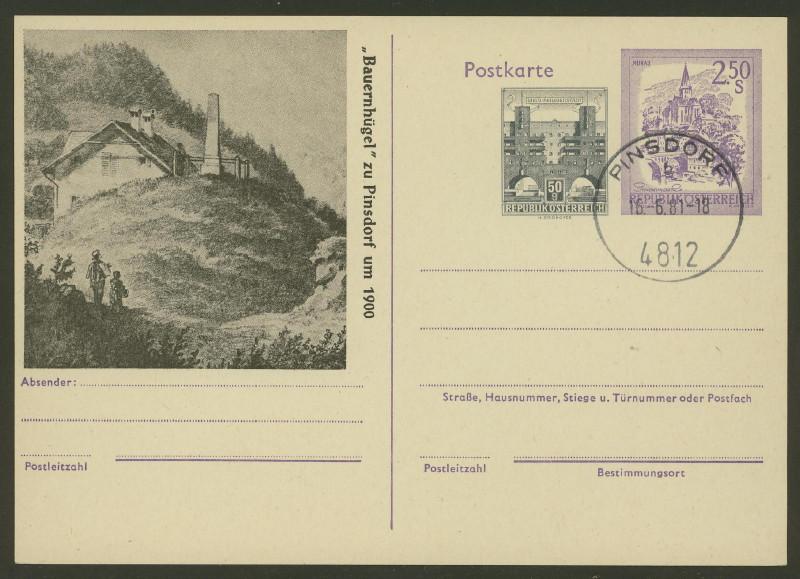 """Wertstempel """"Schönes Österreich"""" - Zudrucke auf Ganzsachen - Seite 2 P_250_10"""