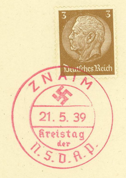 Sudetenland Brief, 1938, Znaim_10