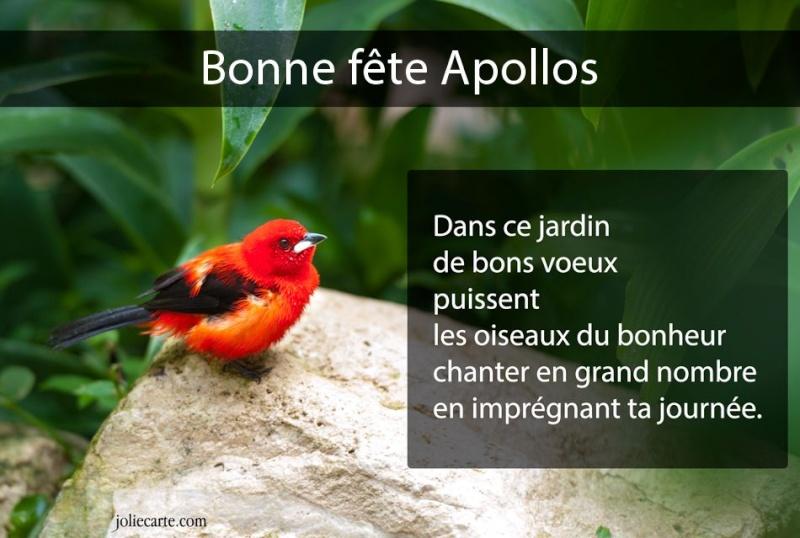 fête  à  souhaiter   - Page 2 Apollo10