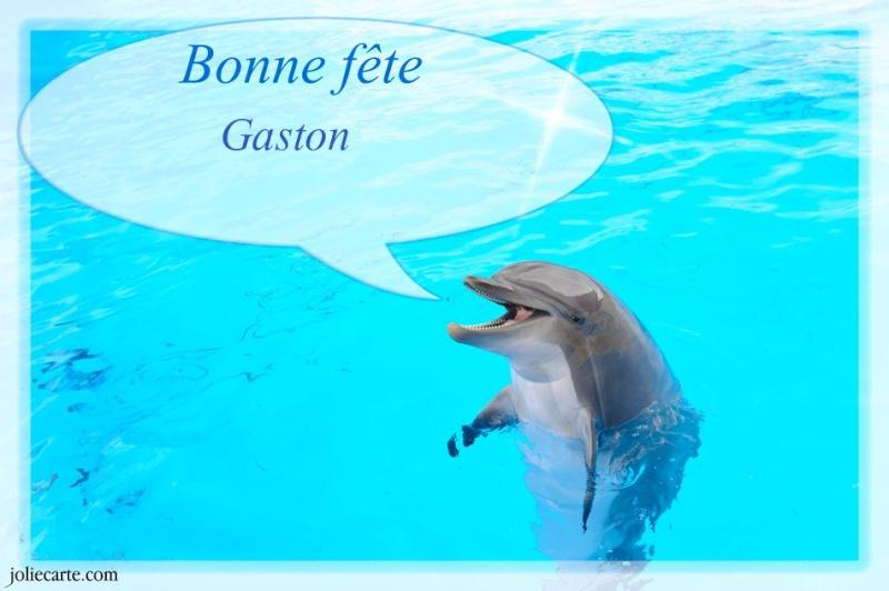 fête  à  souhaiter   - Page 2 Gaston10