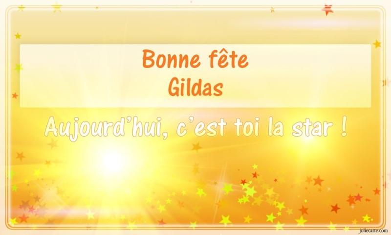 fête  à  souhaiter   - Page 2 Gildas10