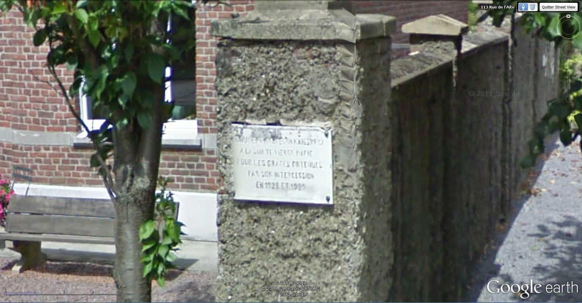Les répliques de la grotte de Lourdes 2013-081