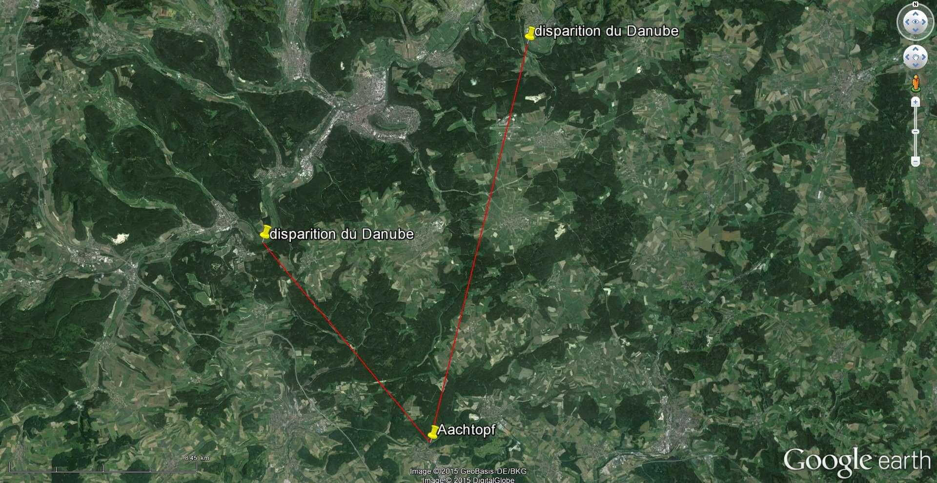 """La disparition du Danube (Donauversickerung), Immendingen, Allemagne, 47°55'46.28""""N 8°45'20.68""""E 2015-146"""