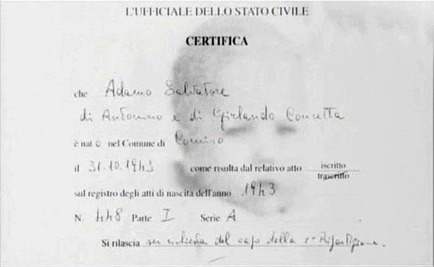 certificat de naissance Certif11