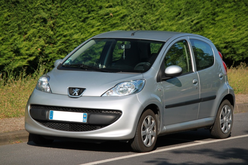 [VENDUE] Peugeot 107 Trendy 1.0L 5p gris alu 0110