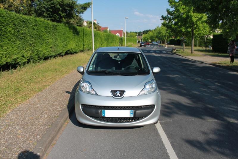[VENDUE] Peugeot 107 Trendy 1.0L 5p gris alu 0410