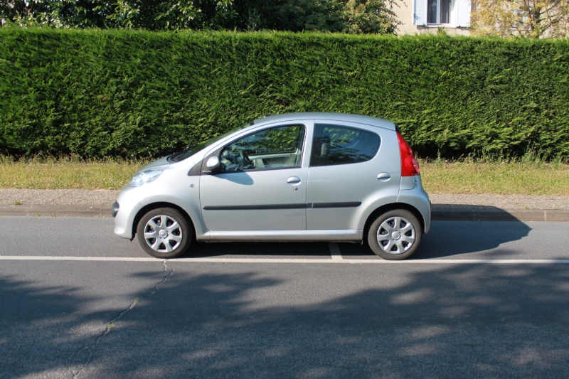 [VENDUE] Peugeot 107 Trendy 1.0L 5p gris alu 0510