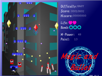 Synchronous Shooter, Magic and Bullet, I wanna be the 3D, Cycle Puzzle Magic_12