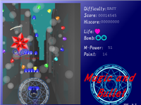 Synchronous Shooter, Magic and Bullet, I wanna be the 3D, Cycle Puzzle Magic_13