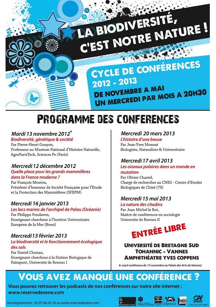 Cycle de conférences 2012-2013. Vannes Sans_t28