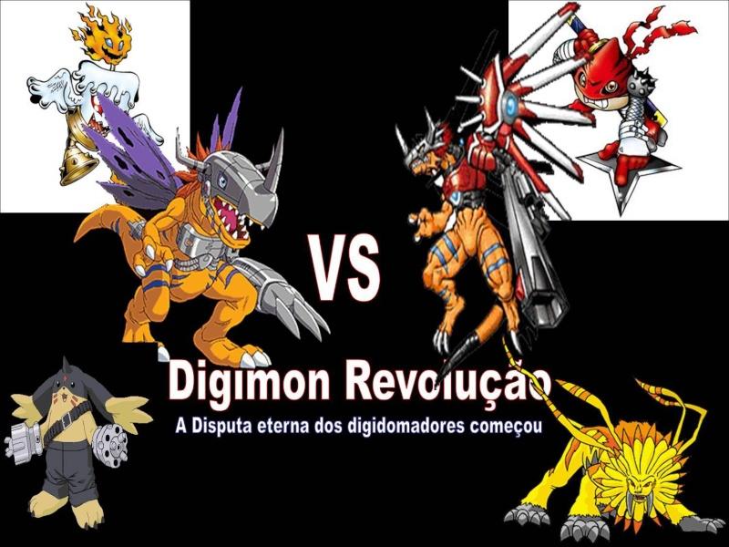 Digimon Rpg Revolução