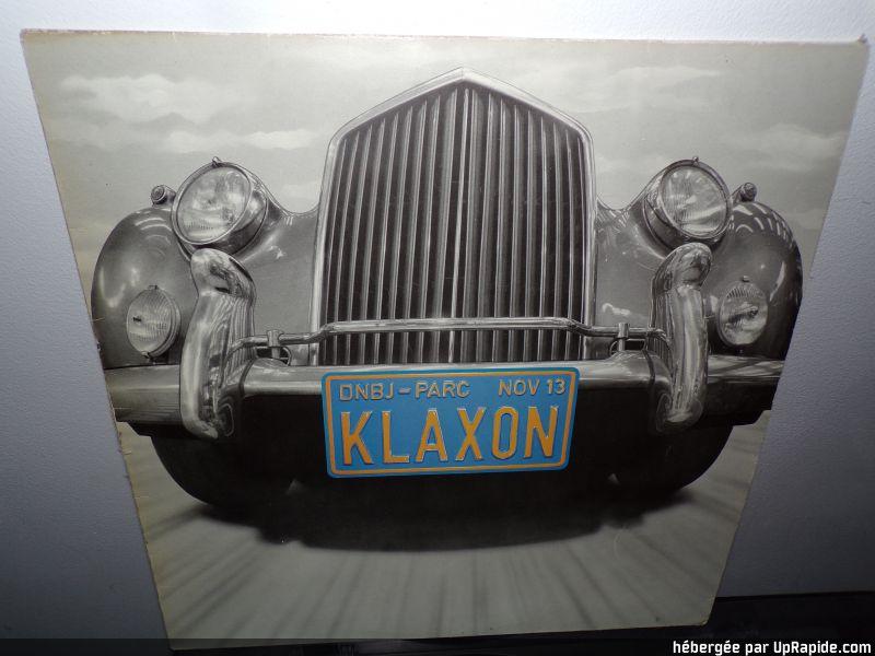 """KLAXON  """" Musique dans la peau """" (1982) 100-1210"""