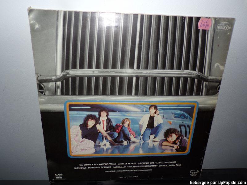 """KLAXON  """" Musique dans la peau """" (1982) 100-1211"""