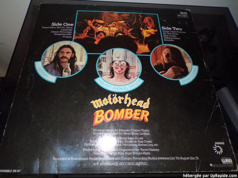 "MOTORHEAD ""Bomber"" (1979)  118-2612"